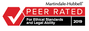 Martindale Peer Rated Badge
